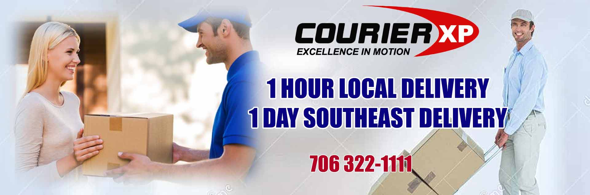 courier services Columbus Ga